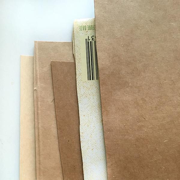 modern shabby-rustic brownish beige