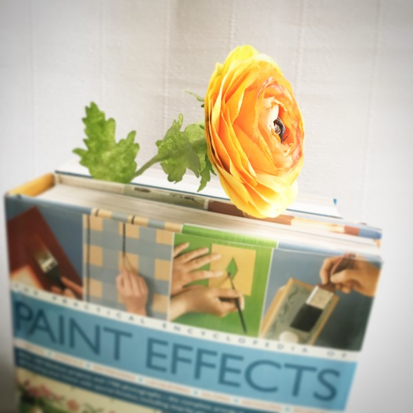 yellow ranunculus bookmarks