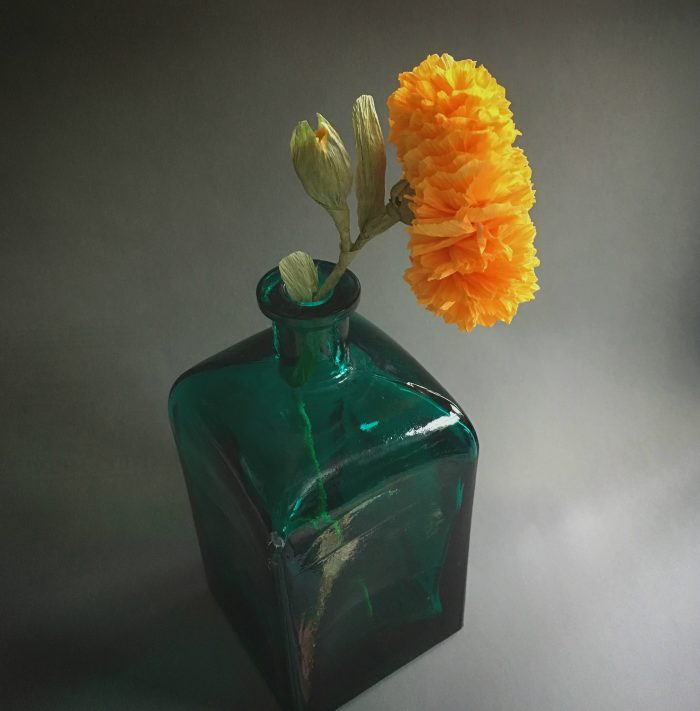How To Make Marigold Paper Flower The Paper Heart
