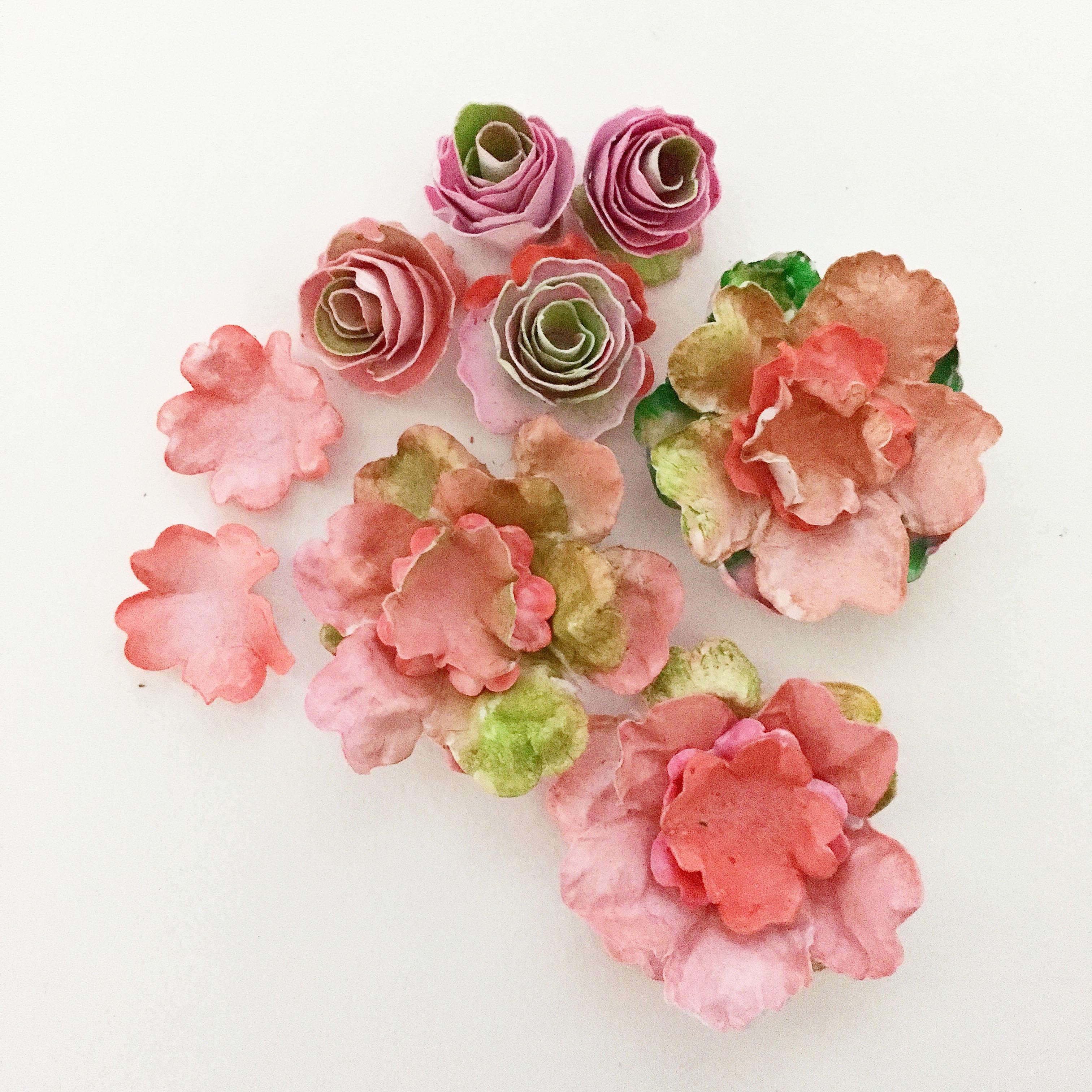 easy paper flower roses