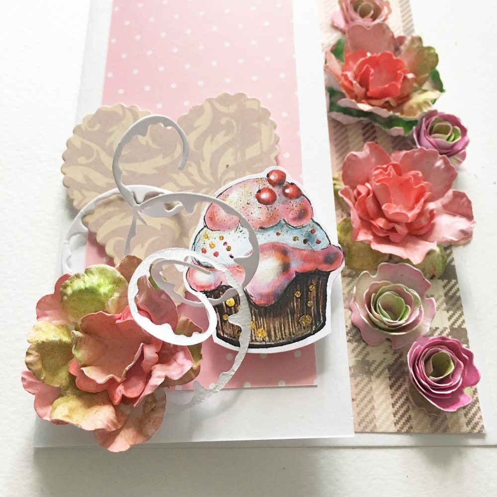 Easy to make paper roses and one recycling tip