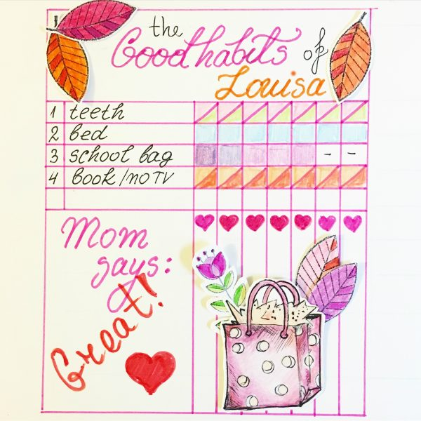 habit trackers for kids