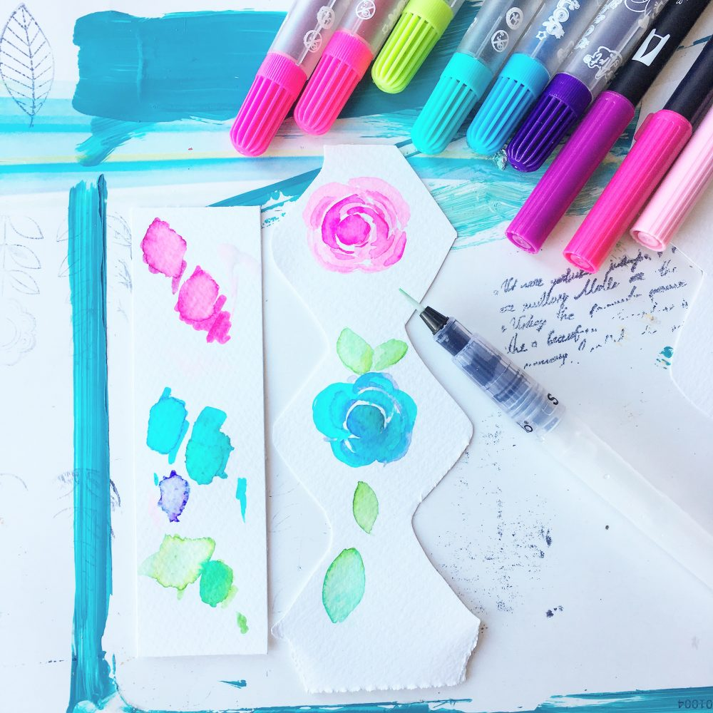 Piece by piece – a scrapbooking watercolour project