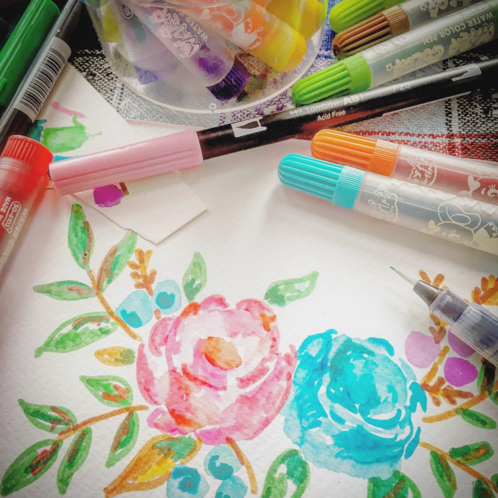 How to save money from craft and art materials – Idea 1