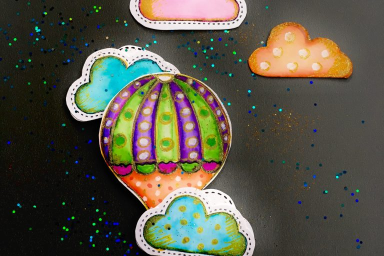 Love is easy – hand drawn muffin toppers