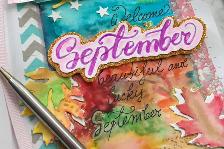 September Journal title page