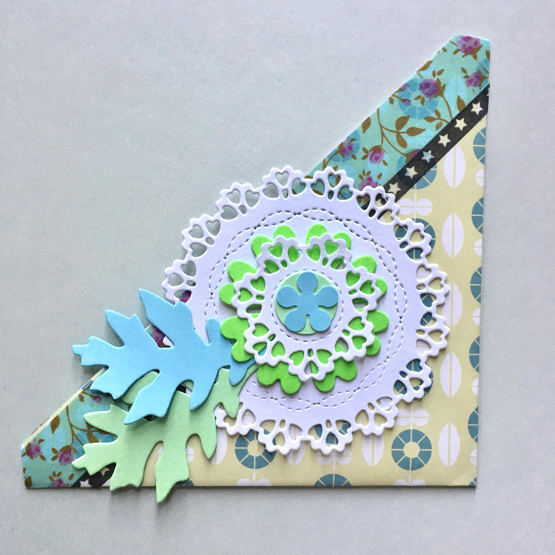 decorated pocket bookmark