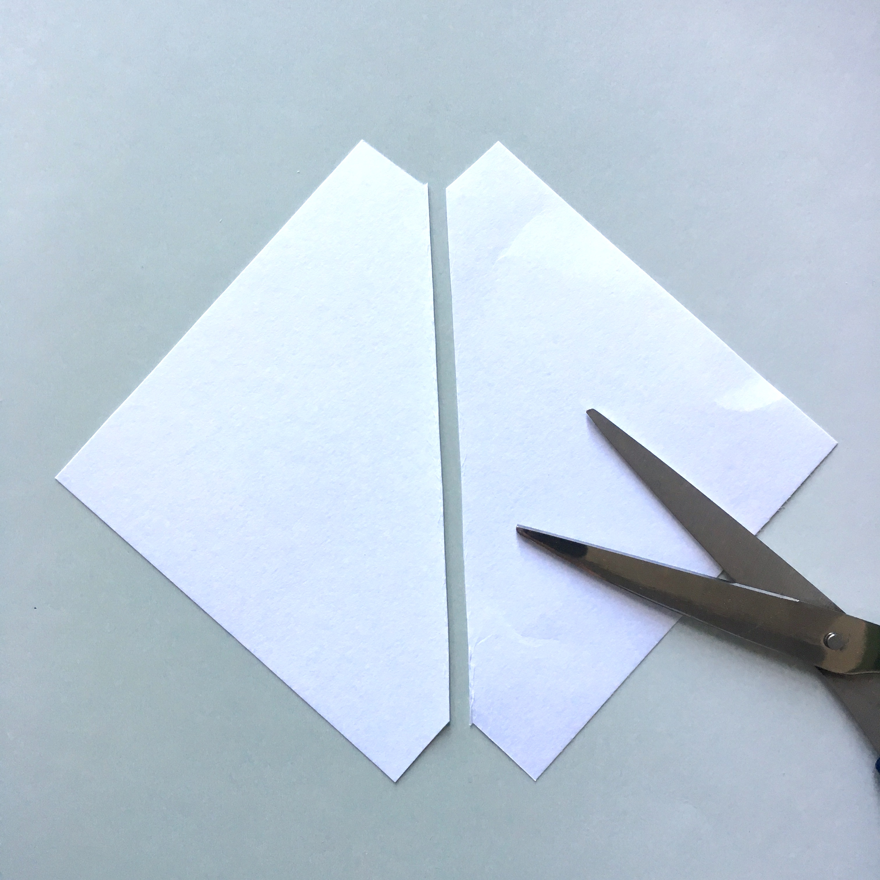 making of pocket bookmark for books and journals