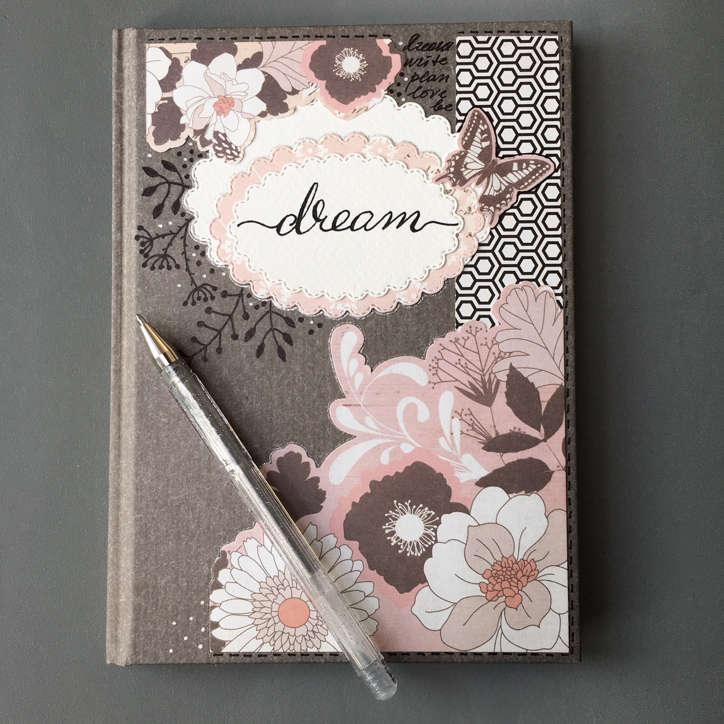 notebook makeover finished