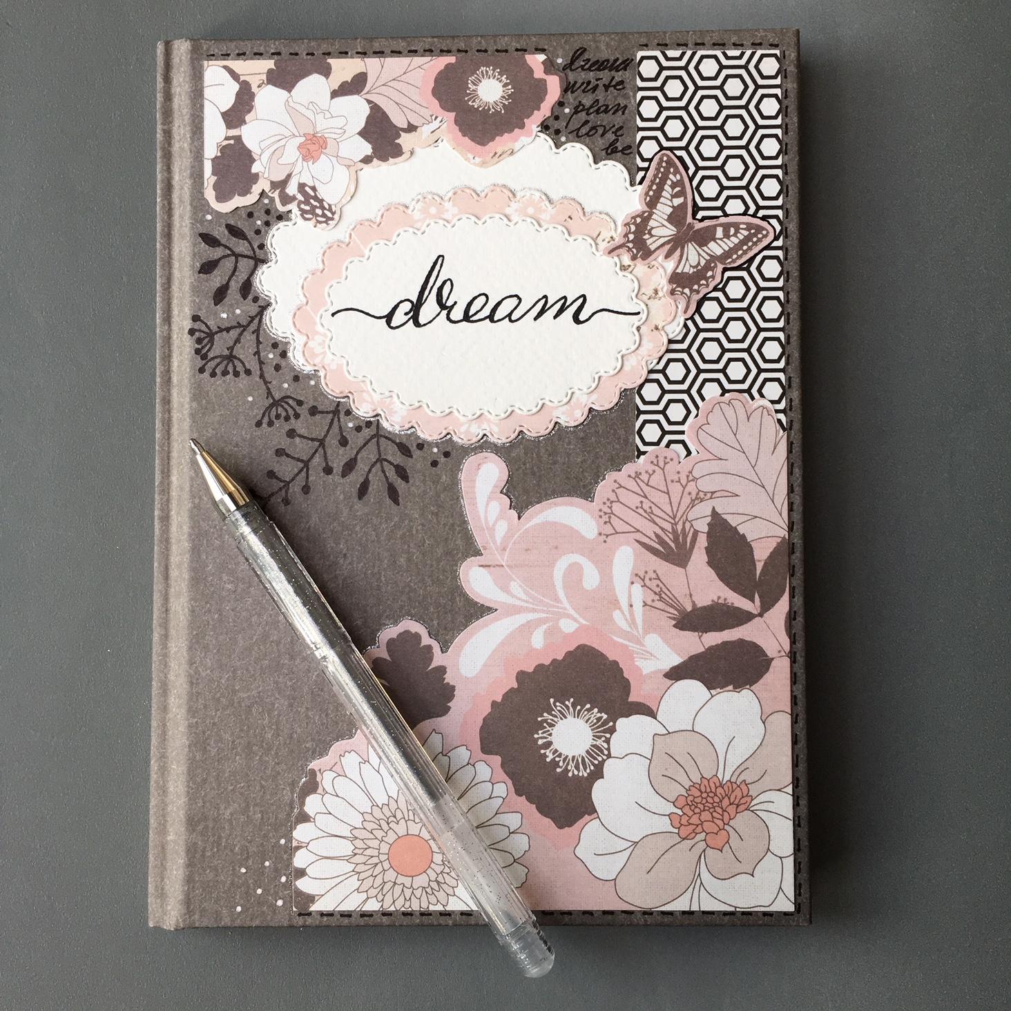 notebook makeover finished