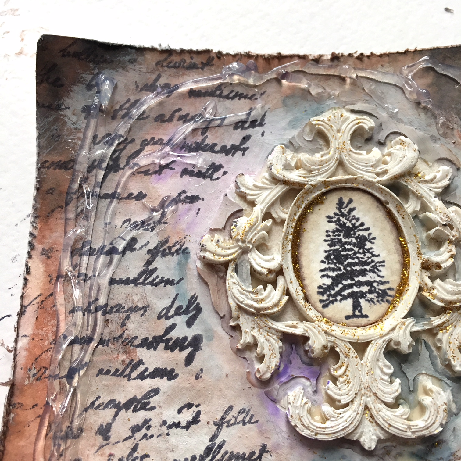 Christmas gift experiments - stamping and molding