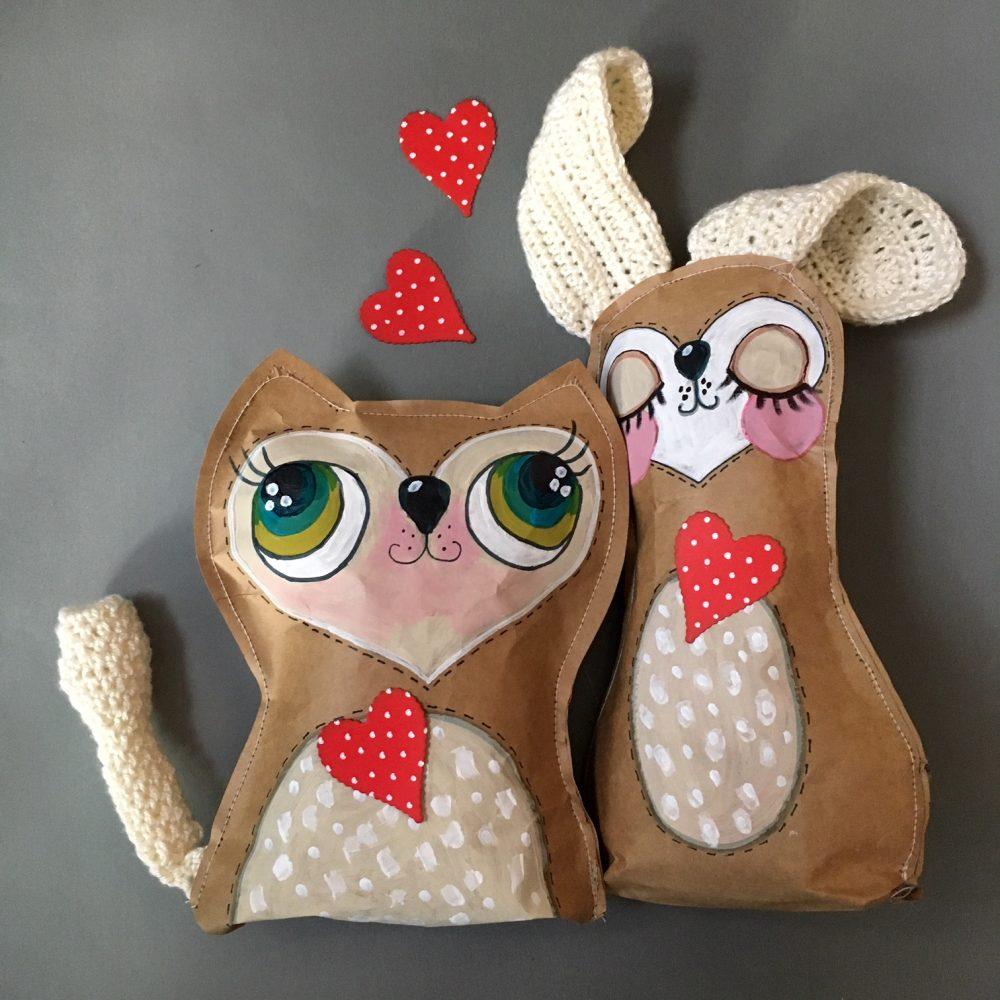 IKEA hacks – brown bag St. Valentine's gift