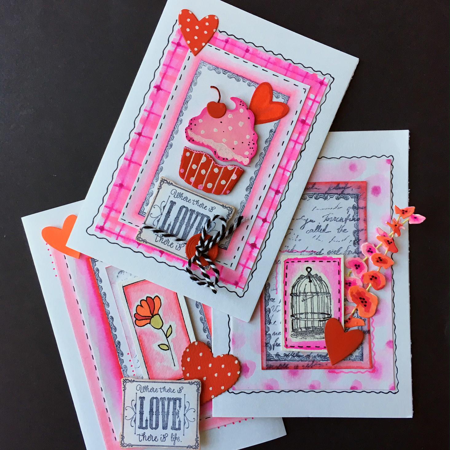Capsule Craft Valentine collection