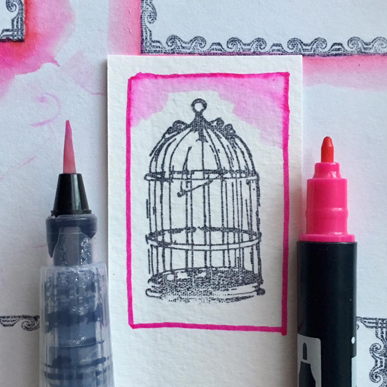 Capsule Craft Valentine project