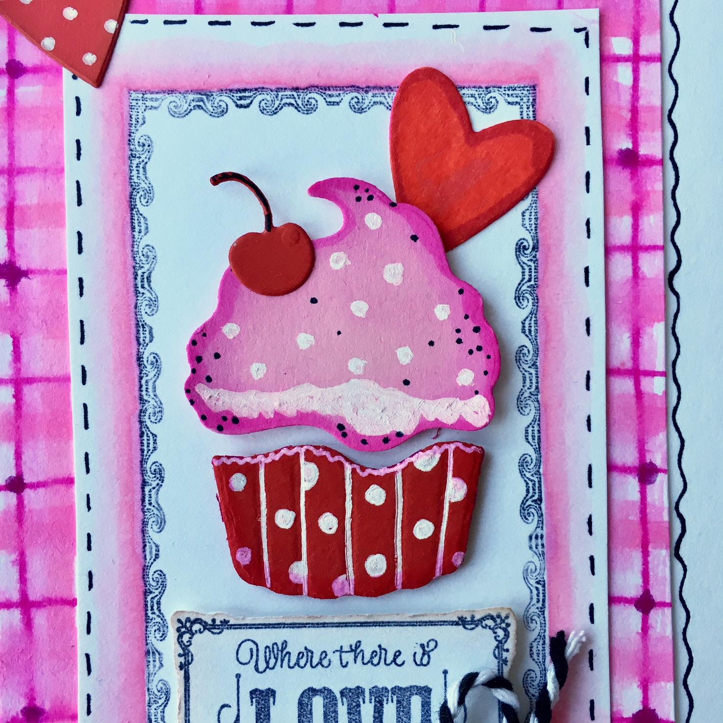 DIY Valentine paper embellishments