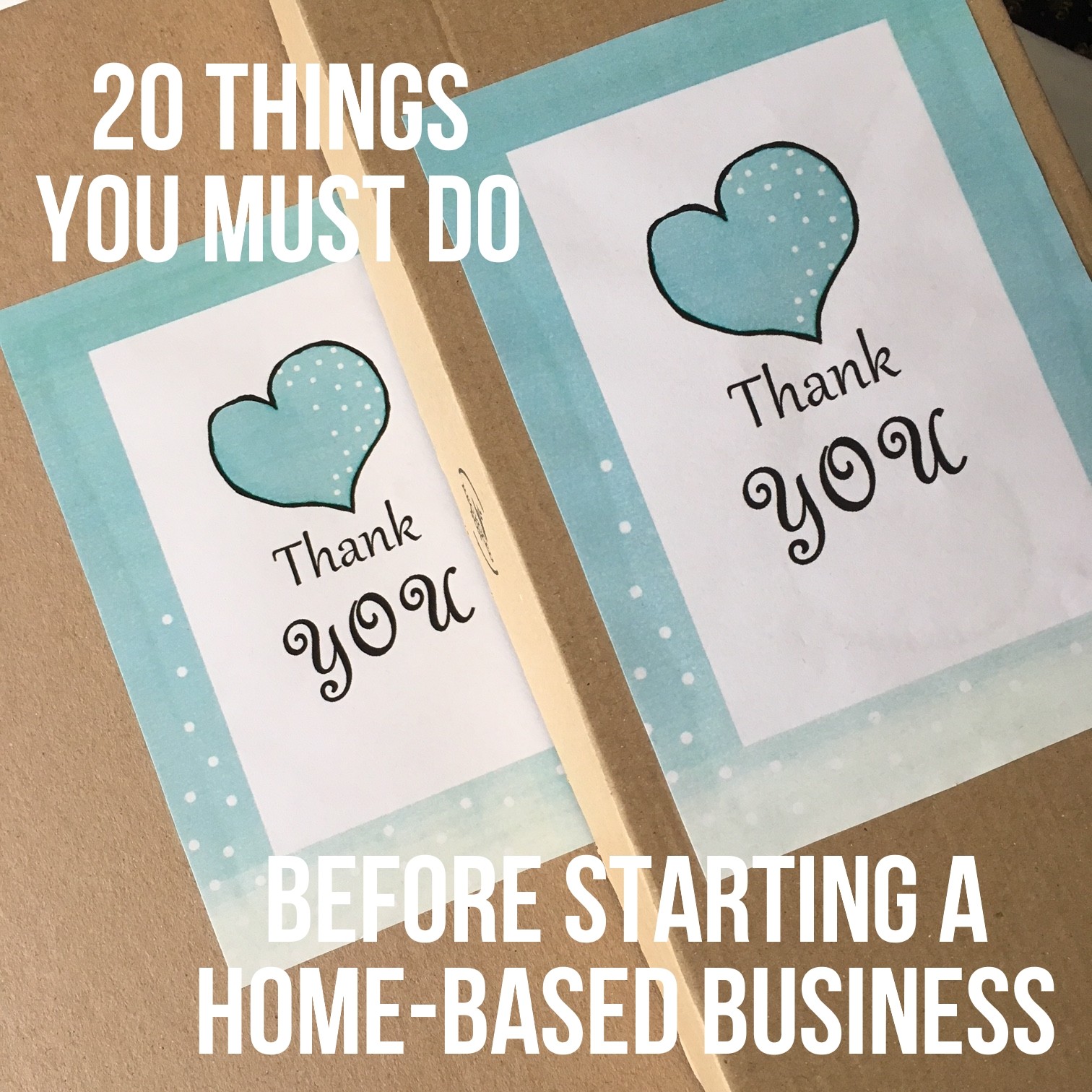 20 things you must do before starting a home-based business