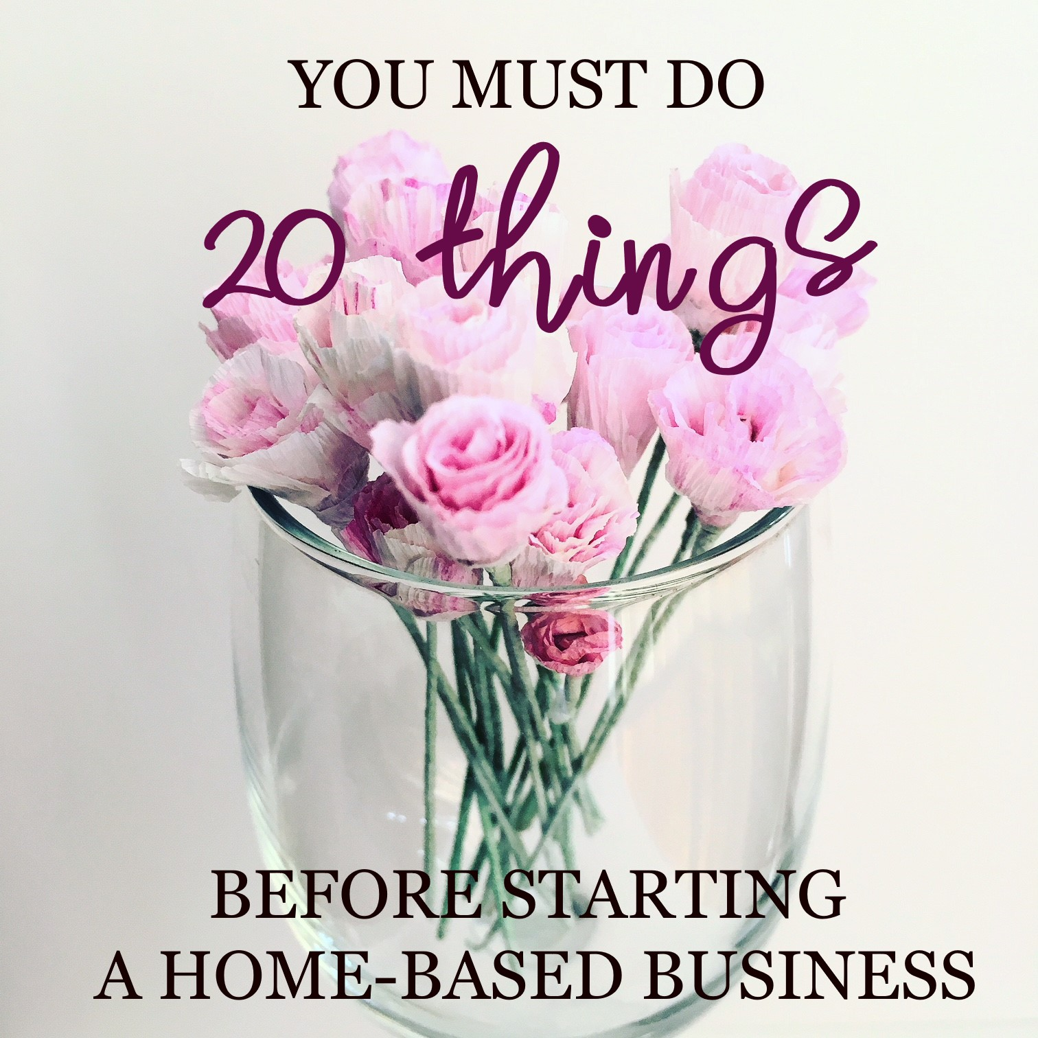 20 things before you start home-based business
