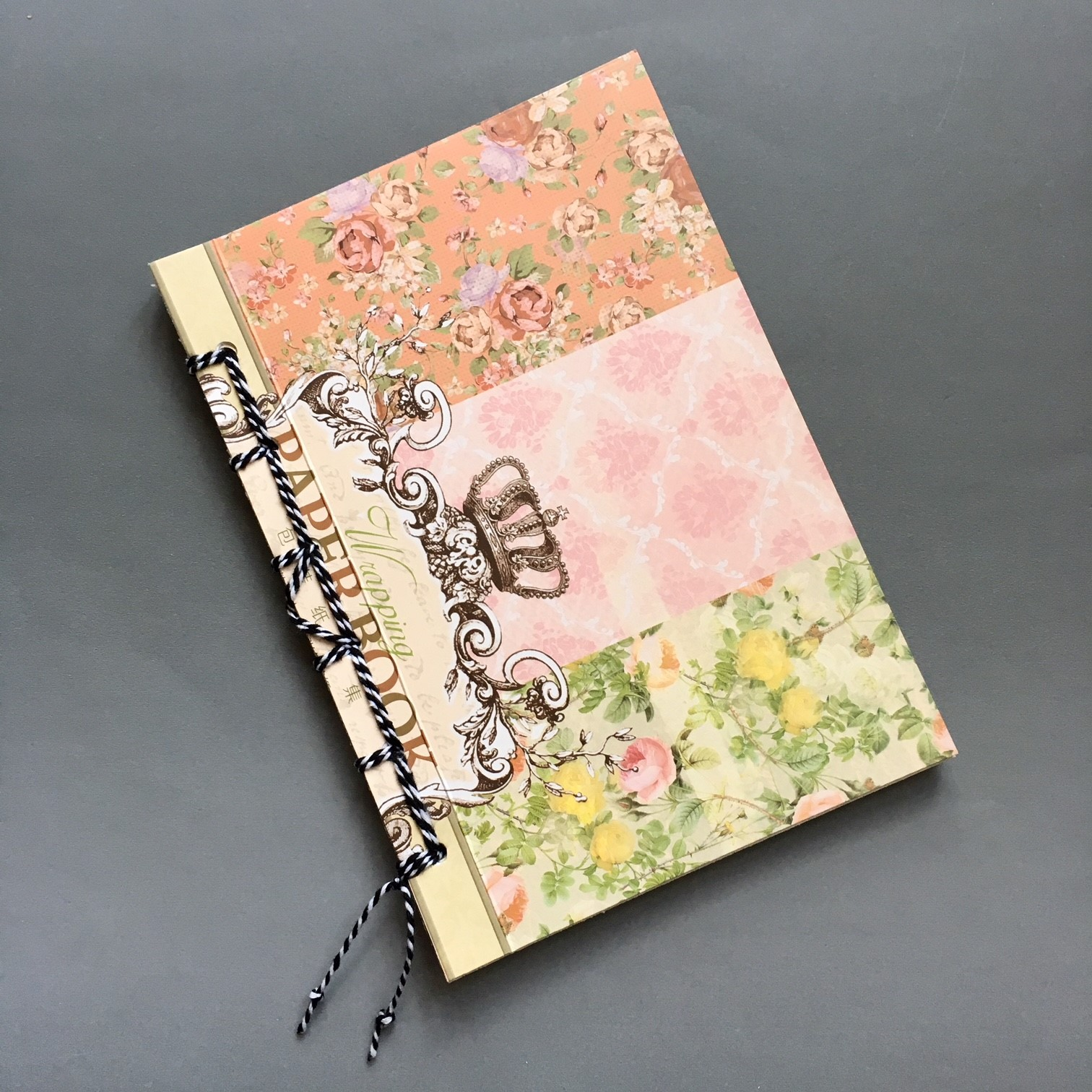DIY smash journal with easy bookbinding
