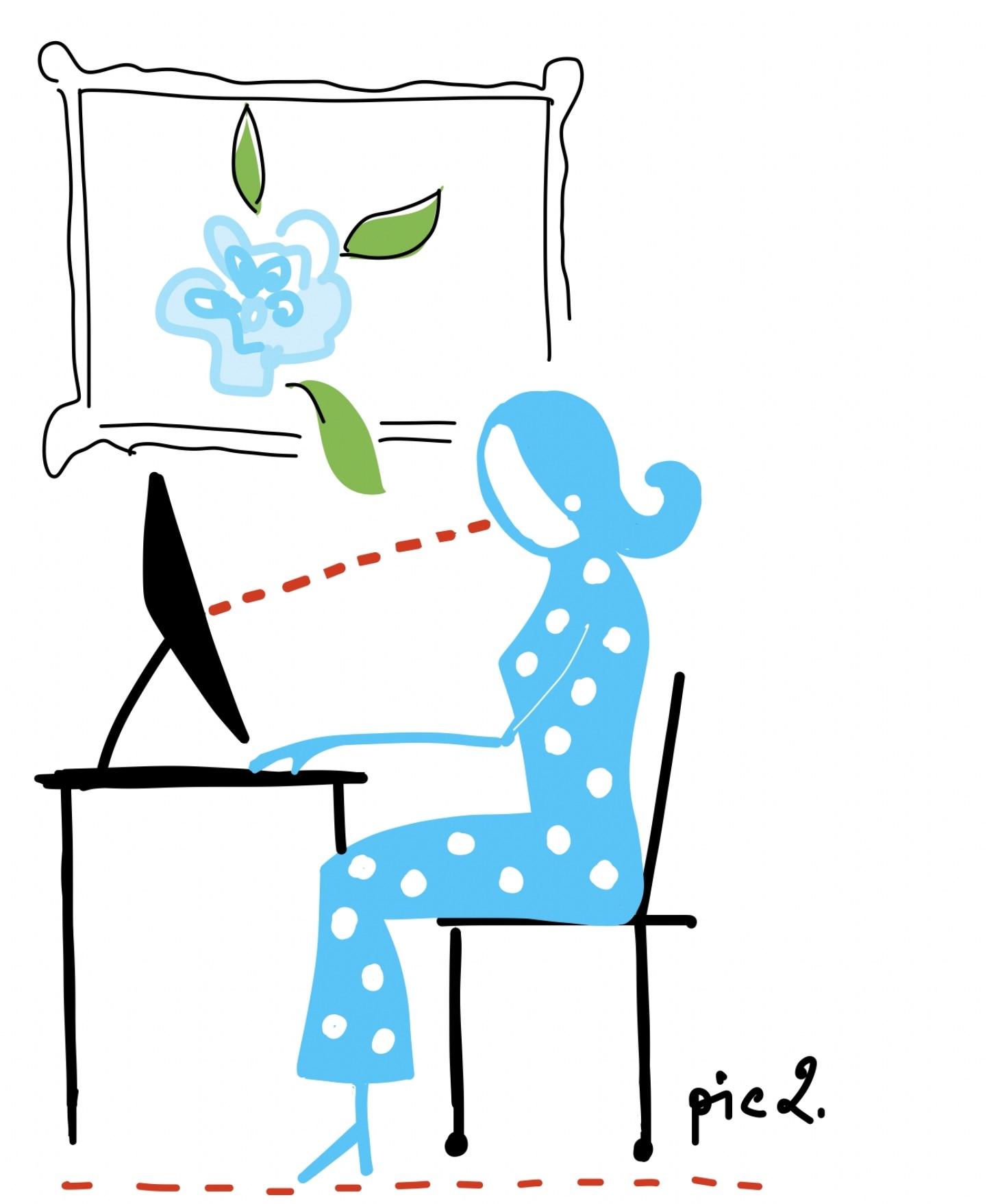 work at home ergonomics