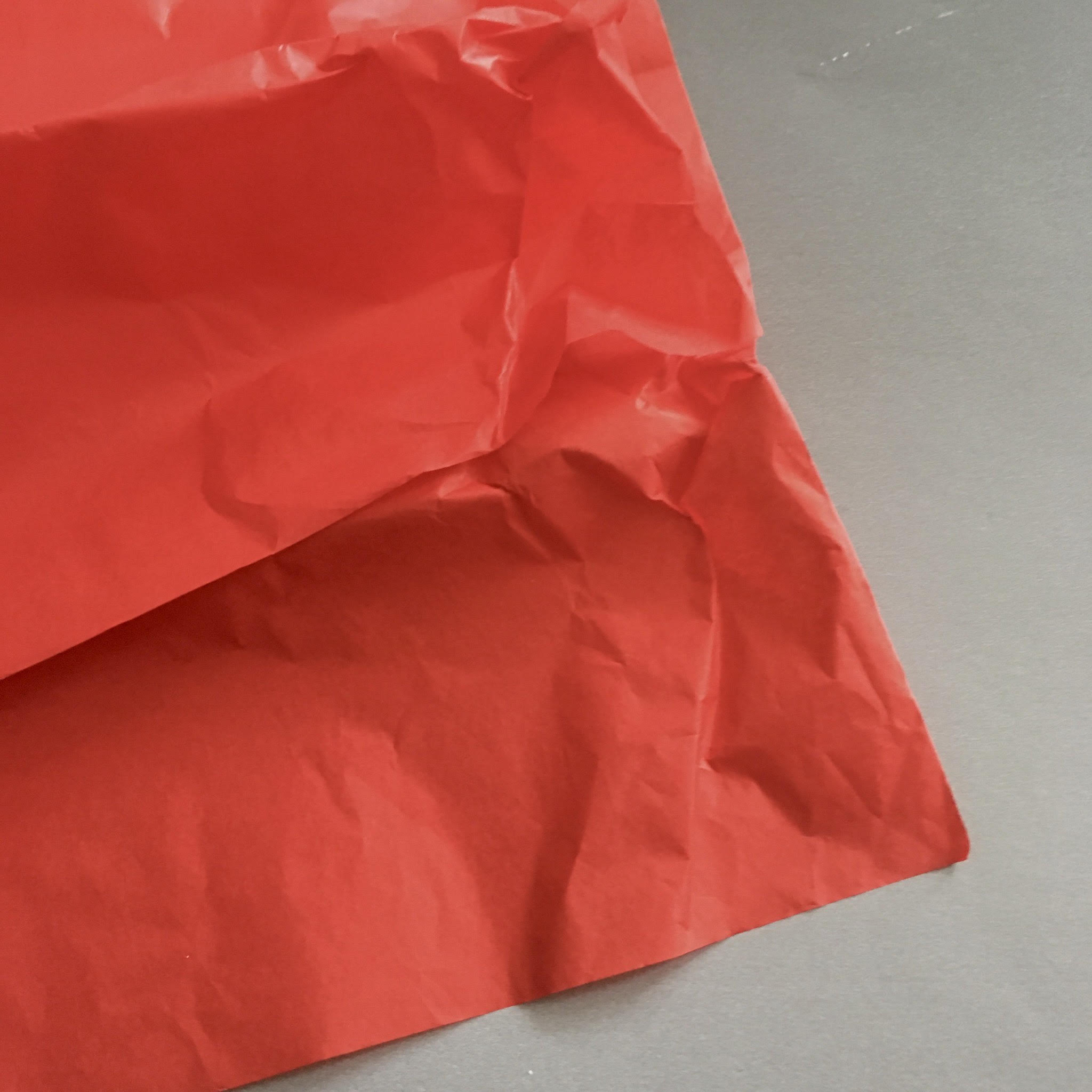 how to choose tissue paper for poppy flower craft prpoject