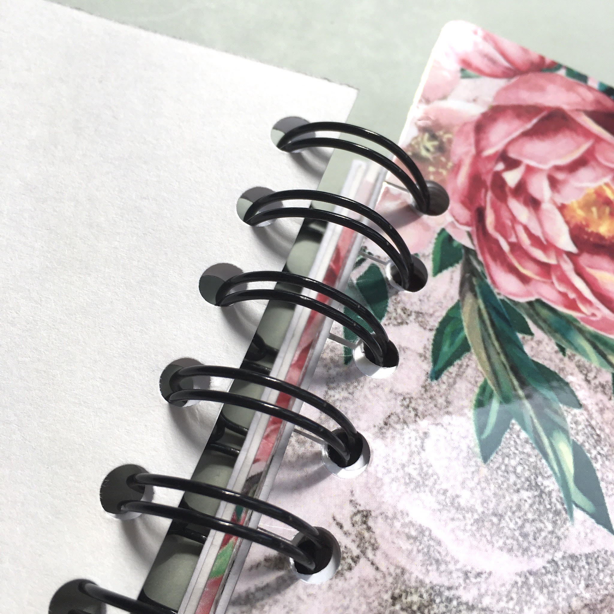 DIY laminated planner page marks
