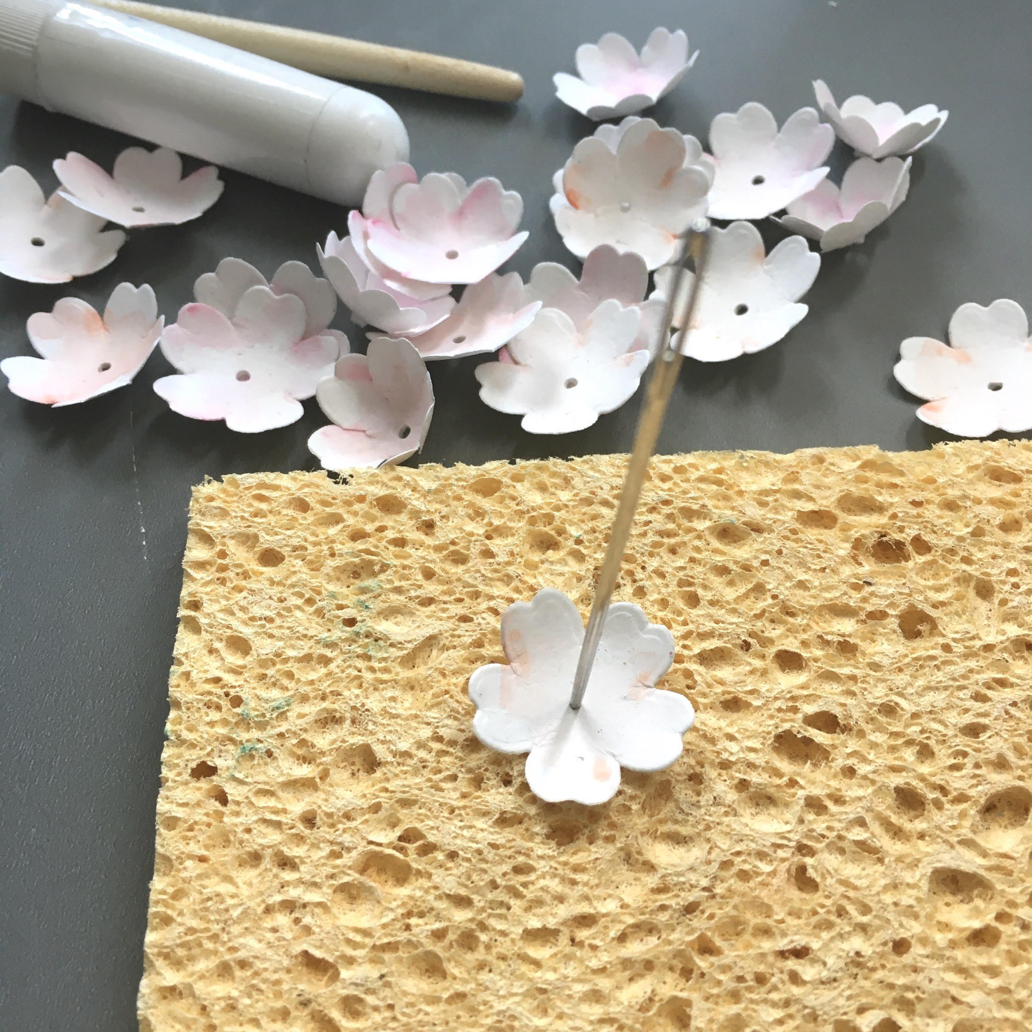 Easy Spring blossom tutorial