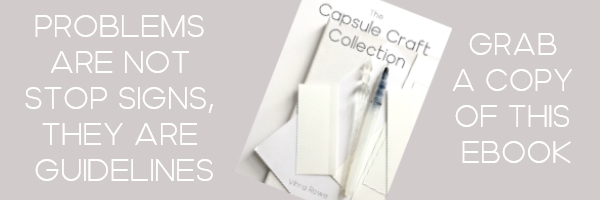 Capsule craft collection book on Amazon
