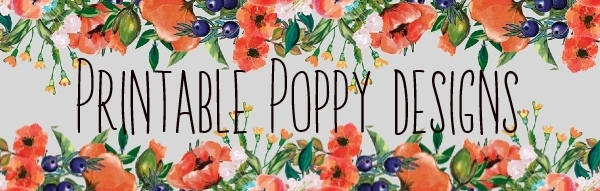 printable poppy designs