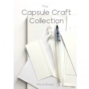 a book about capsule philosophy in the craft world