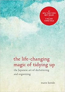"Mary Kondo's book ""The Life-Changing Magic of Tidying up"" reorganised my Life and inspired my planning routines"