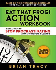 "Books which inspired my planning routines. Brian Tracy ""Eat that frog"" which made me a lot more organised."