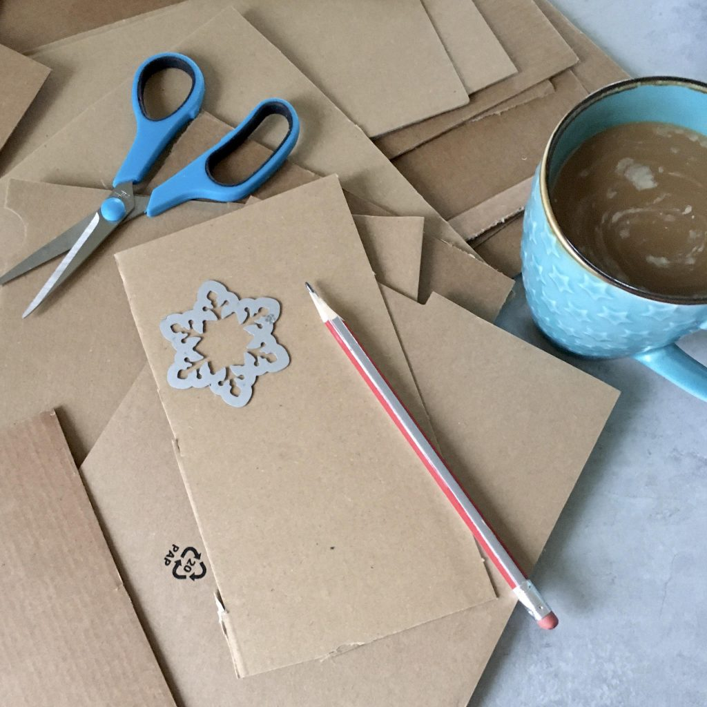 IKEA hacks: paper gingerbread embellishments