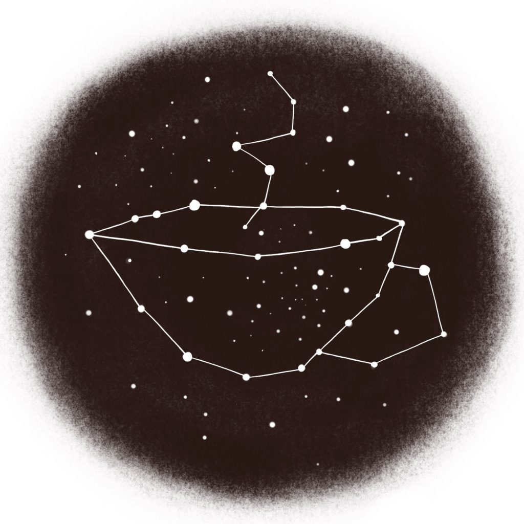 Meaningful Christmas constellations stickers
