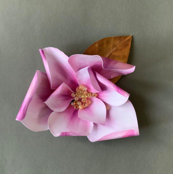 DIY magnolia flower
