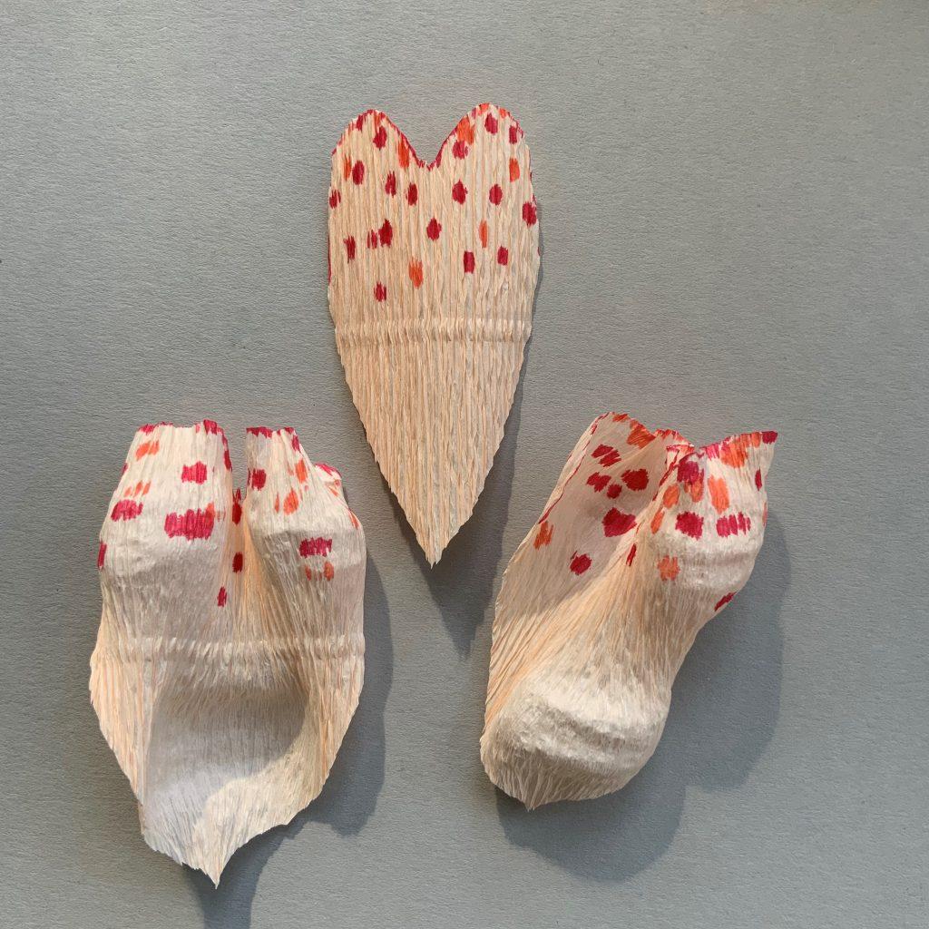 Easy DIY crepe paper Peony flowers