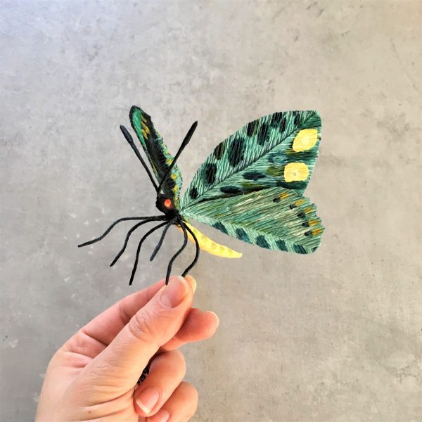 DIY crepe paper butterfly